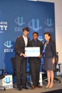 Munir and Mugwisi were winners of both the Social Venture Challenge and the Commitment to Action Certificate.