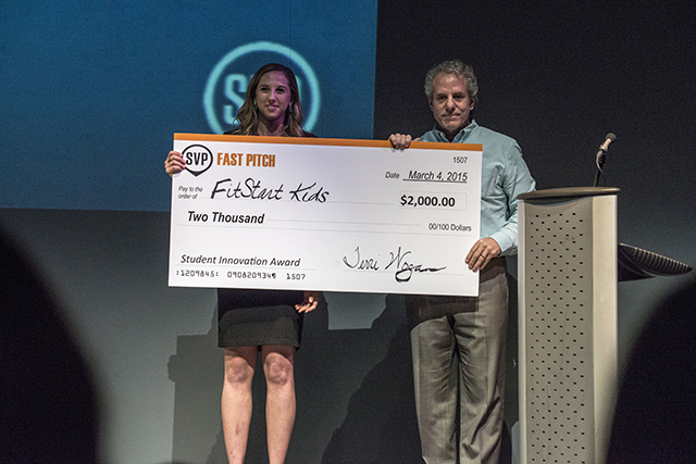 Fit Start Kids Wins Award at SVP Fast Pitch Challenge