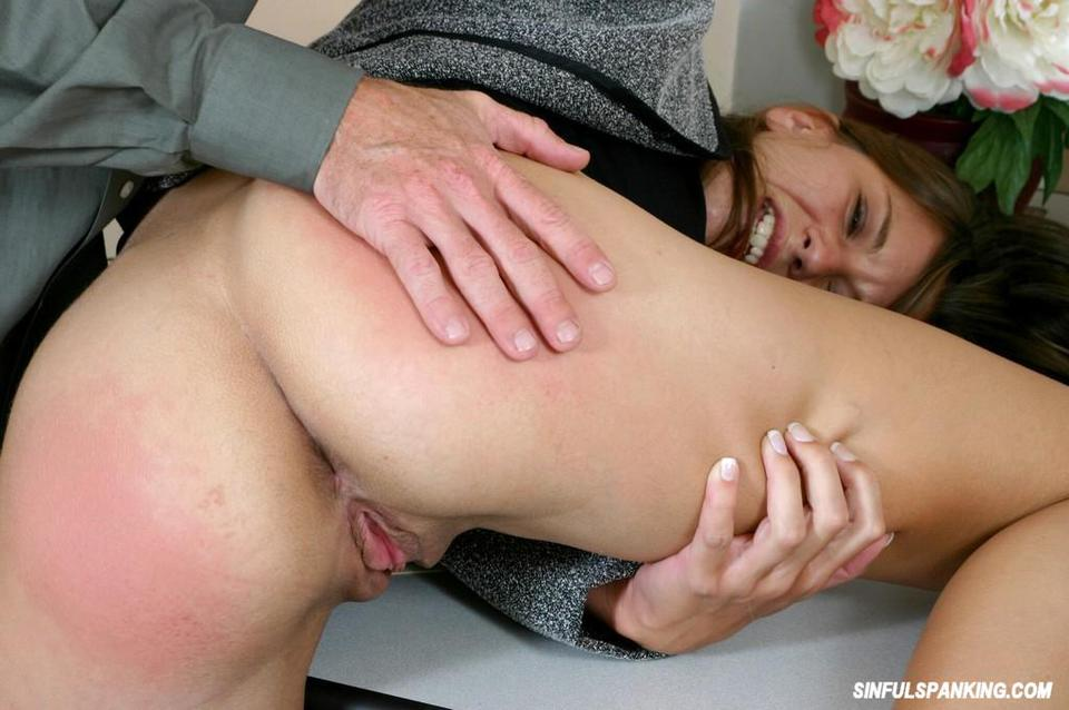 Secretary spanked by her boss xxx nude pictures