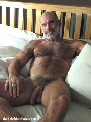 mature hairy thick dicked daddy