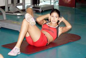 gym girl captions