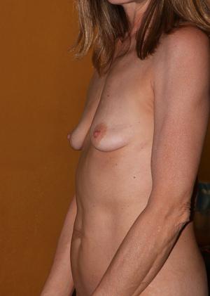 skinny saggy tits
