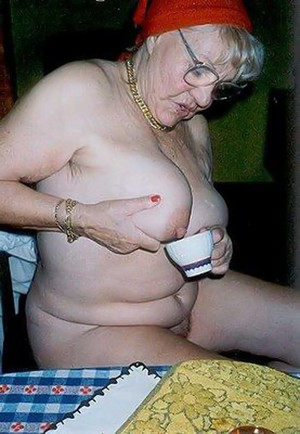gray haired granny porn