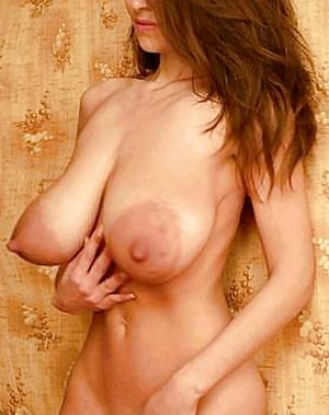 huge pancake nipples areola