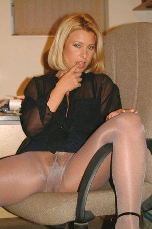 older women in pantyhose