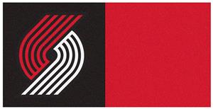 Fan Mats Nba Portland Trail Blazers Carpet Tiles Fan Gear