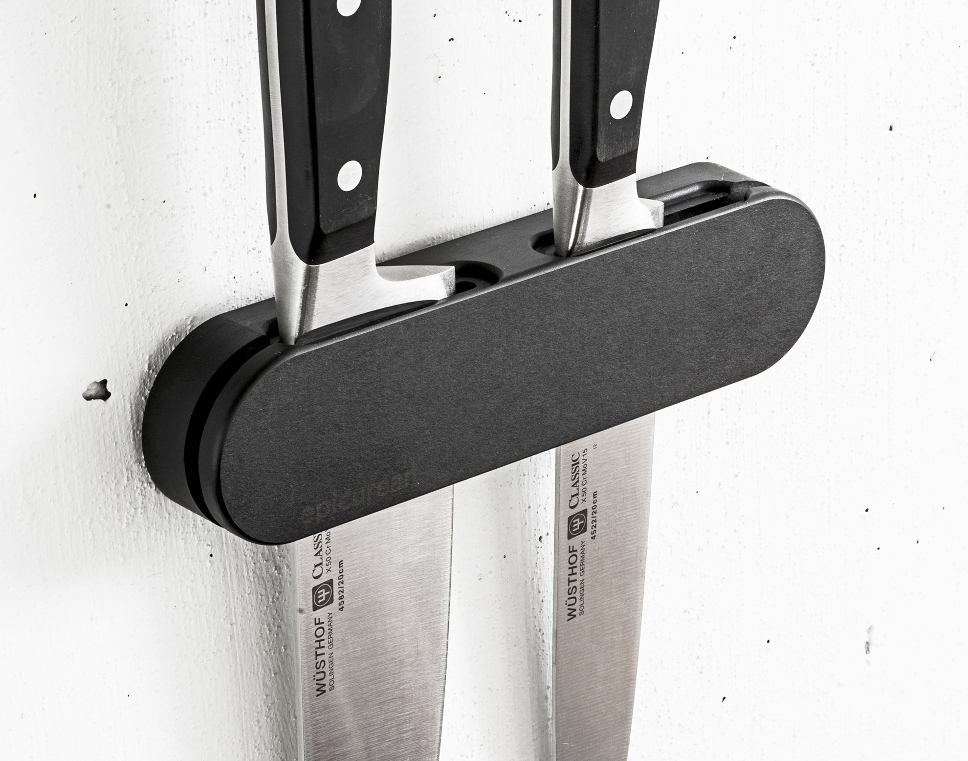 Cutting Board With Knife Holder Wall Mounted Knife Holders