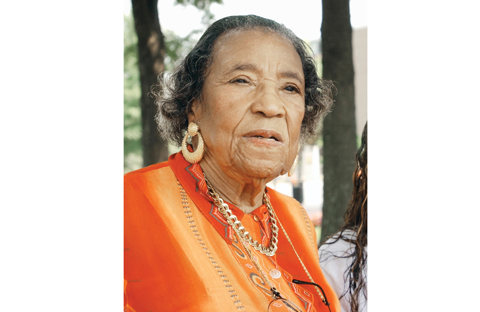 Baby And Asthma Amelia Boynton Robinson Civil Rights Activist Dies At
