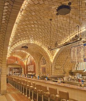 El Grand Central Oyster Bar, su obra más famosa.