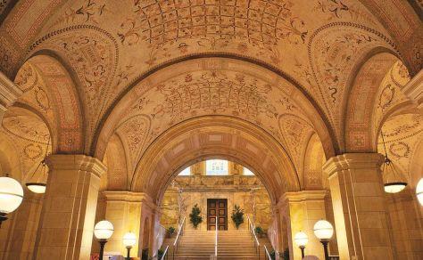 La biblioteca de Boston, una de las grandes construcciones de Guastavino.