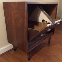 Mid Century Album Storage Cabinet by Lane Acclaim - EPOCH