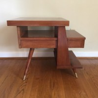 Mid Century Modern Triple Tiered End Tables by American of ...