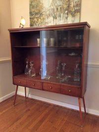 Mid Century Display Cabinet   Zef Jam