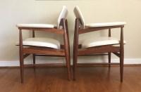 Mid Century Modern Walnut Lounge Chairs by Thonet - EPOCH
