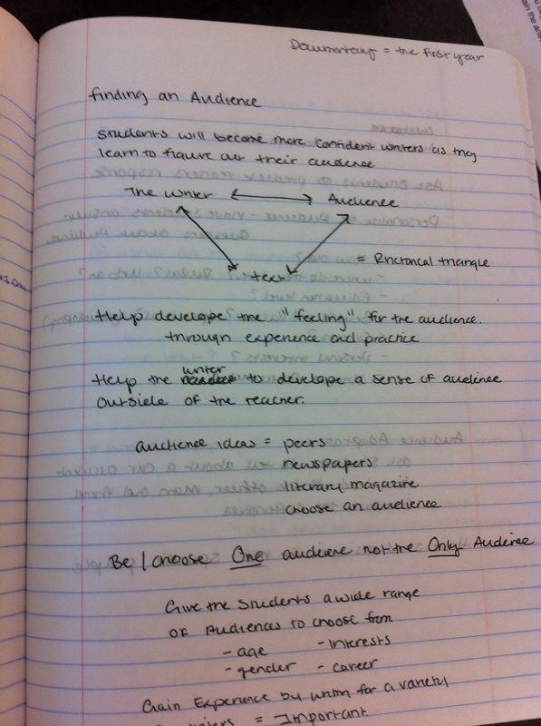 Day Book Essay - Teaching Composition