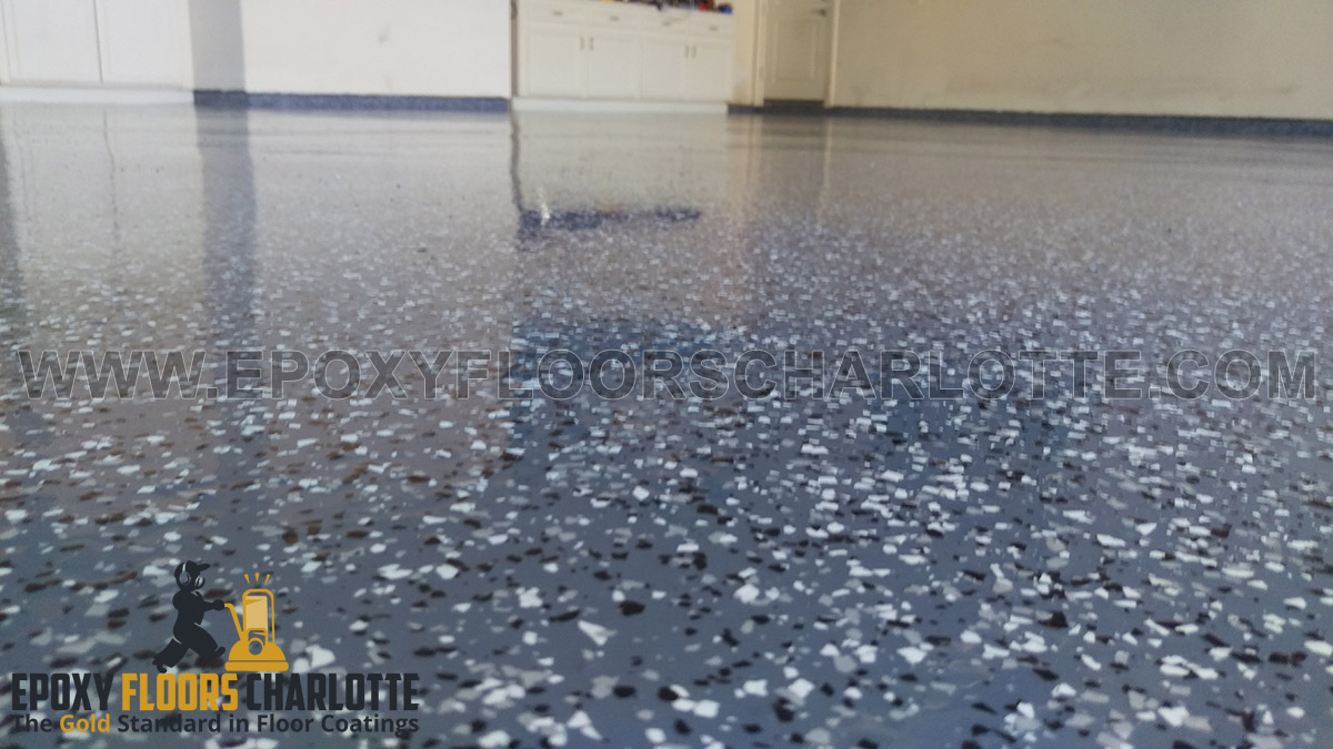 Garage Epoxy With Flakes Epoxy Flooring Prices In Charlotte Ncepoxy Floors Charlotte