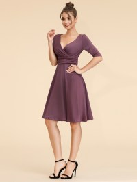 Women Short Sexy Sleeves Prom Party Casual Cocktail Club ...