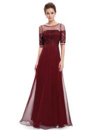 Ever-Pretty Women Evening Dress Bridesmaid Maxi Half ...