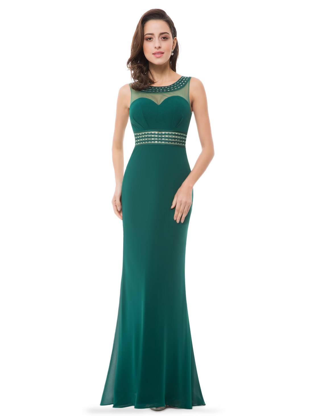 Long Cocktail Ever Pretty Women 39s Elegant Sleeveless Long Evening