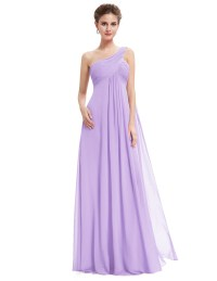 Long Women Chiffon Formal Evening Party Dresses Bridesmaid ...
