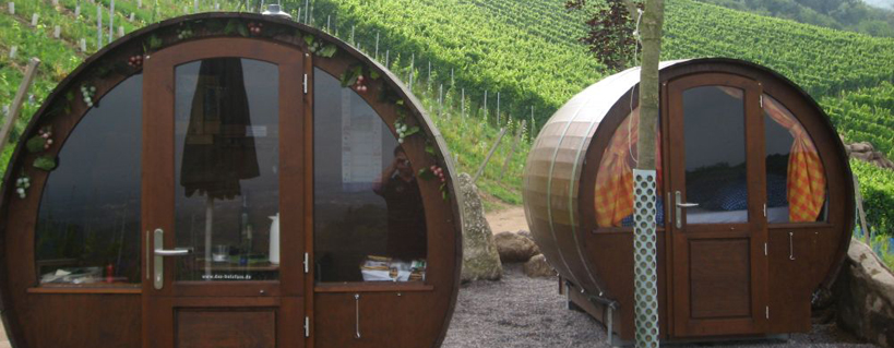 Dormire in una botte di vino. In Germania, si può!