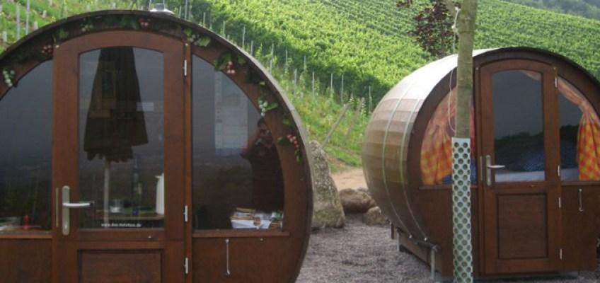 Dormire in una botte di vino. In Germania, si può!