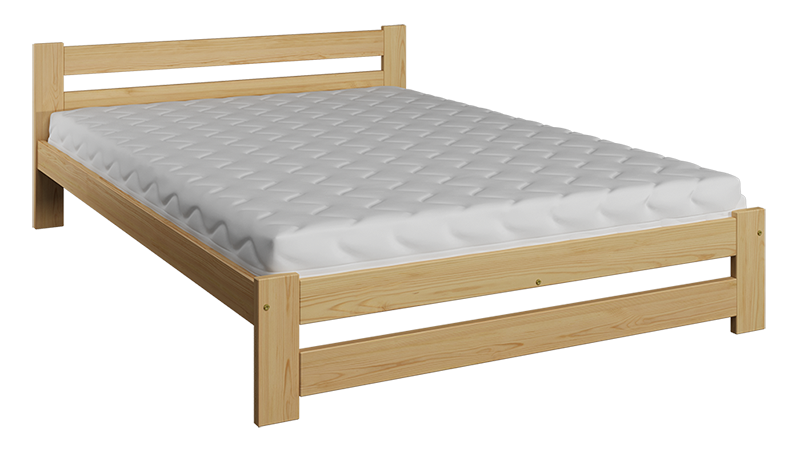Bed 120 X 190 Details About Wooden Pinewood Bed Frame 4ft Small Double 120x190 Size Slats Varnished Wood