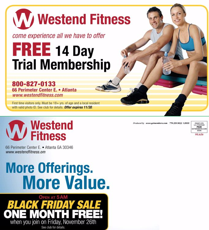 Health Club Brochures Fitness Brochures Gym Brochures - Fitness Brochure