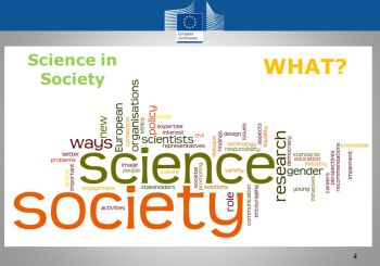 Public online consultation on the Science with and for Society Work Programme 2018 – 2020