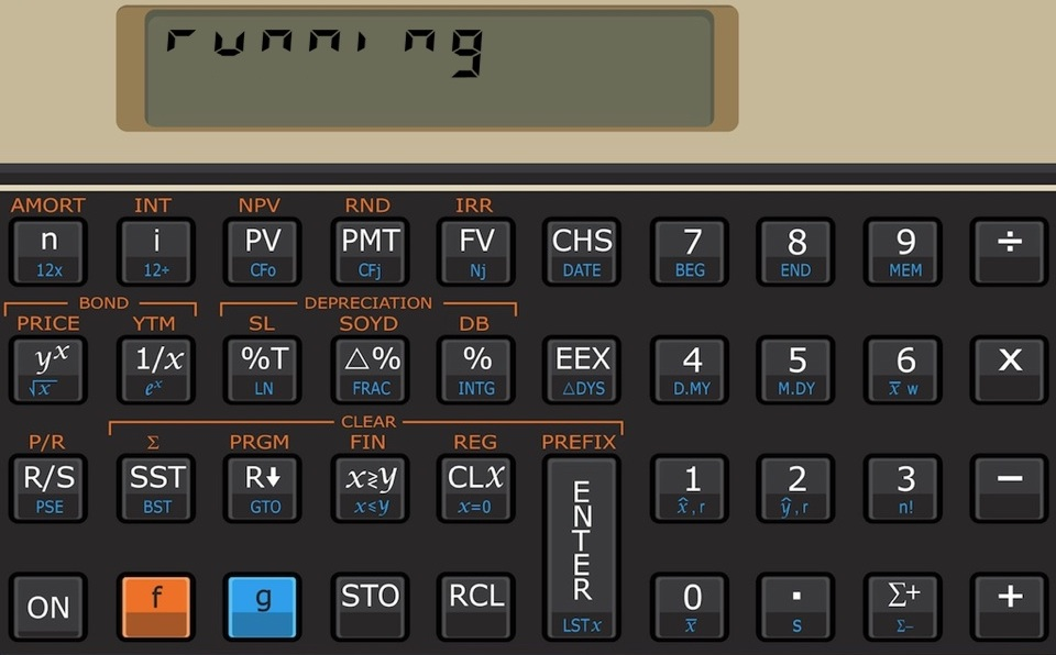 Touch Fin the financial calculator for Android