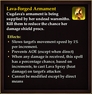 Effect - Lava-Forged Armament