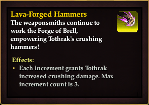 Effect - Lava-Forged Hammers