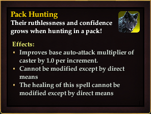 Effect - Pack Hunting