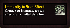 Effect - Immunity to Stun Effects