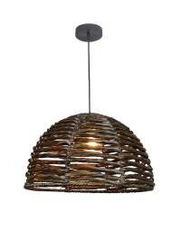 EQLight PBDL01 Natural Tule Tropical Dome Pendant - EQLight