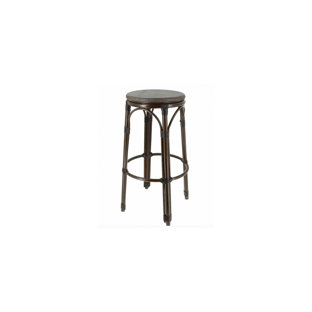 Tabourets De Bar Alu Lot De 2 Tabourets De Bar Biarritz En Aluminium Equipement Direct
