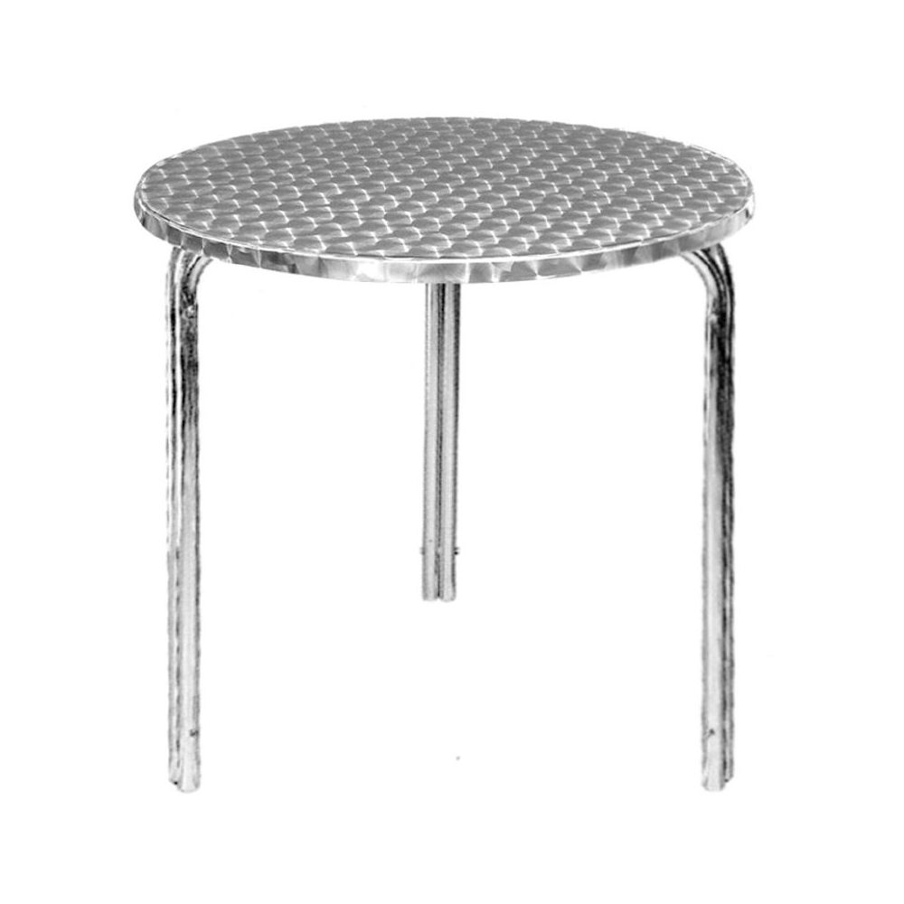 Table Bistrot Inox Table Bistro Tableau Inox 60cm Empilable Bolero