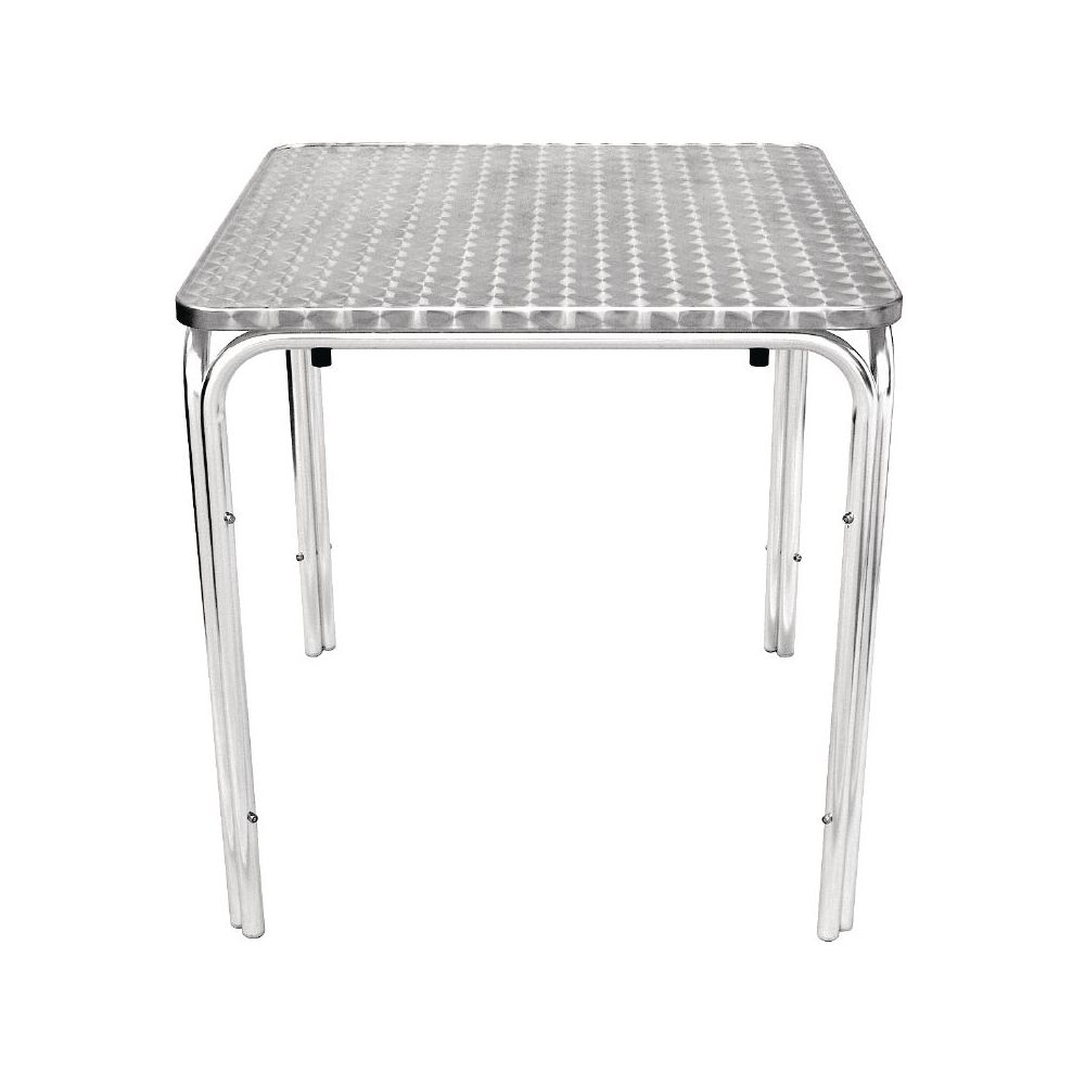 Table Bistrot Inox Table Bistro Tableau Inox 70cm Empilable Bolero