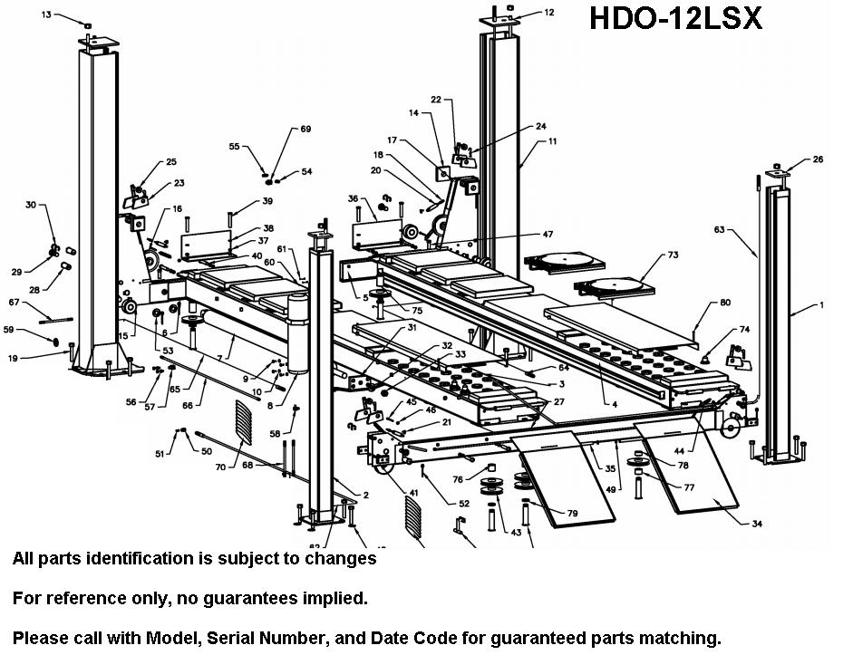 wiring diagram for bendpak lift