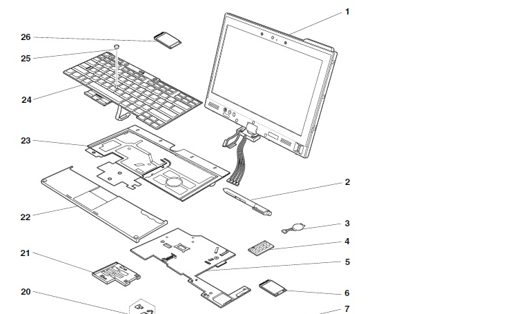 lenovo laptop diagram