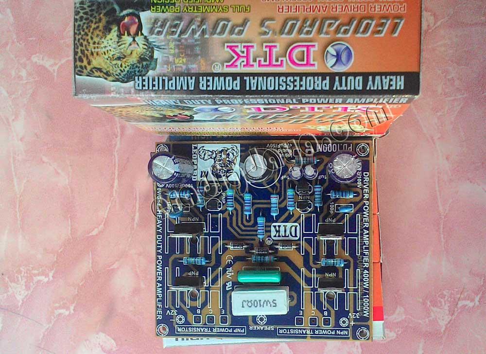 Power Amplifier Rakitan Untuk Lapangan