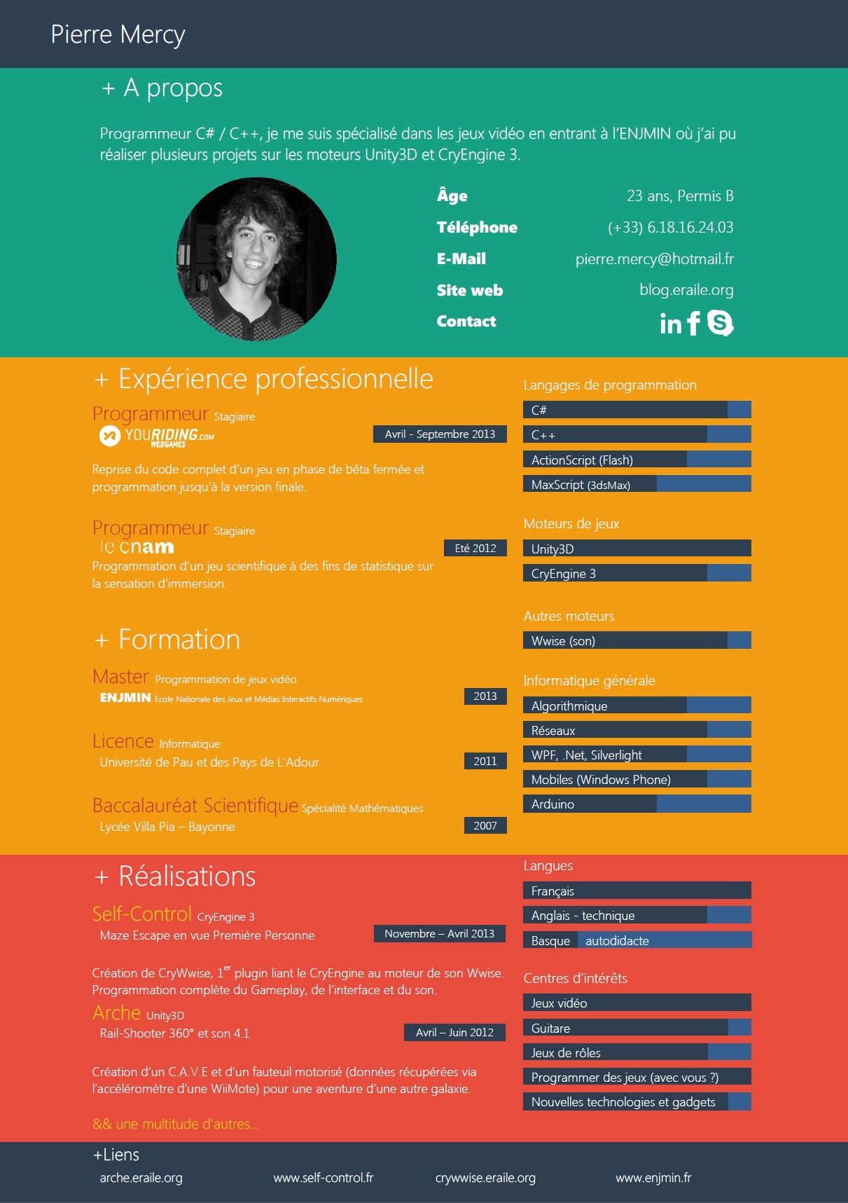 site web cv exemple