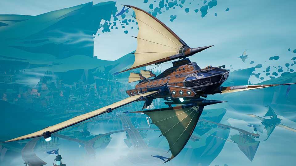 Dauntless Airship