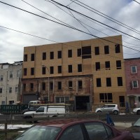 Nice Addition In Progress on Ridge Avenue | Naked Philly