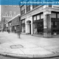 Broad Street - Contract 110 - West Sidewalk - Broad Street South from Southwest Corner Callowhill Street