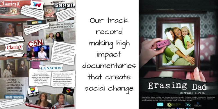 Our track record making high impact documentaries that create social change