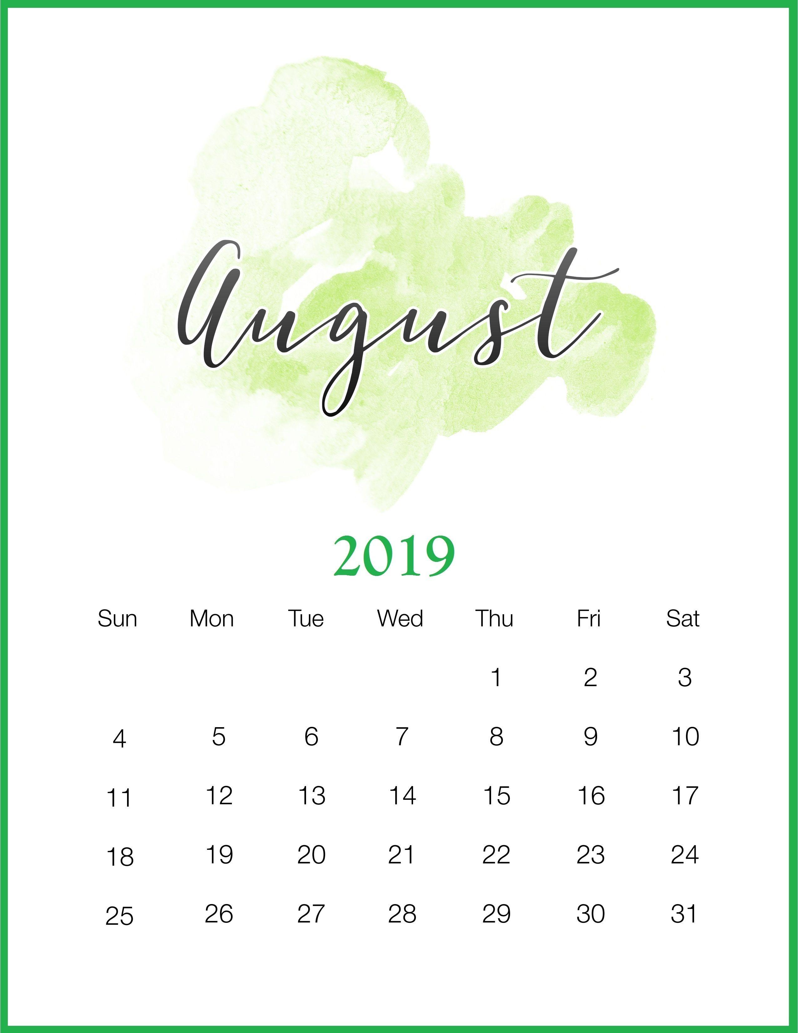 february 2019 calendar editable