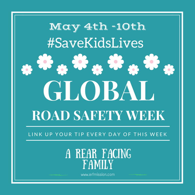 Infant Carrier Reviews 2016 Global Road Safety Week 2015 – Tip 4 A Rear Facing Family
