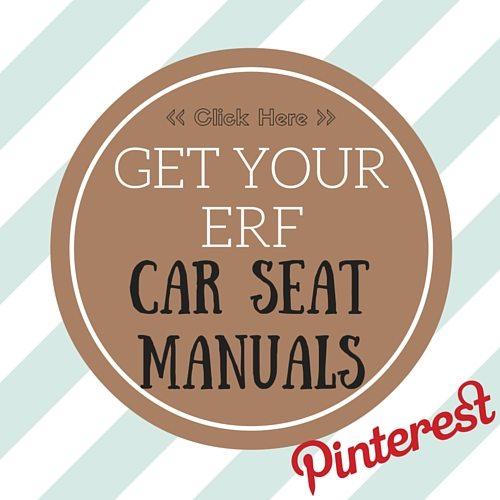ERF Car Seat Manuals