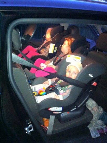 Joie Trillo With Isofix Car Seats – 3 Across In The Backseat Part 2 – A Rear